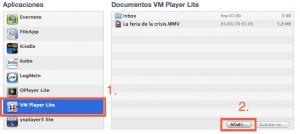Compartir archivos con las apps desde el iTunes